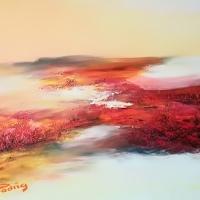 Les herbes rouges 55x46