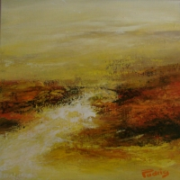 ATMOSPHERE BRUMEUSE - 40 X 40